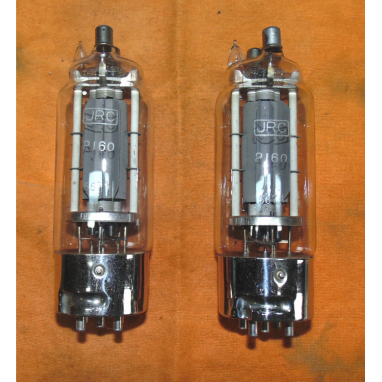 Válvula eletrônica antiga JRC tipo P160.- 250 -