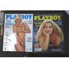 Coleção de revistas antigas da Playboy.- 264 -
