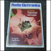 Coleção de revistas de eletrônica Radio Elettronica.- 093 -