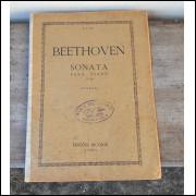 Partitura Sonata opus 90 para piano Beethoven.- 296 -