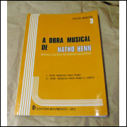 Livreto partitura para piano e canto.- 304 -