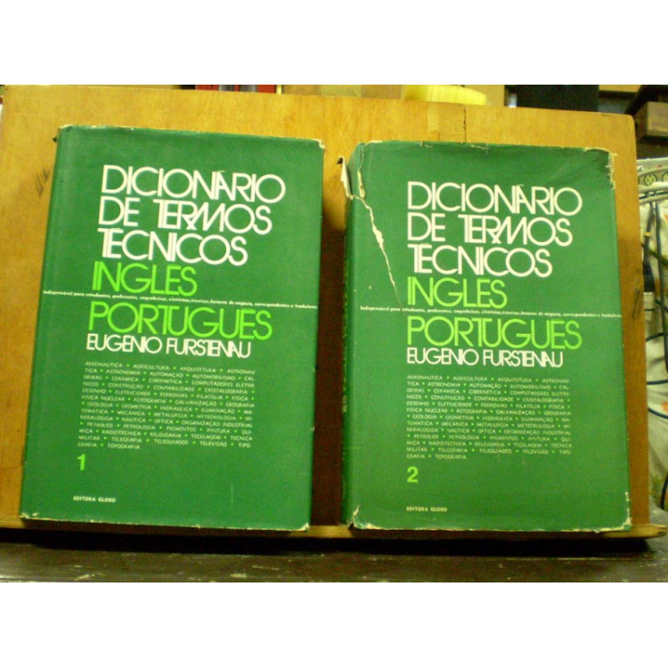 Dicionário de termos técnicos inglês-português.- 086 -