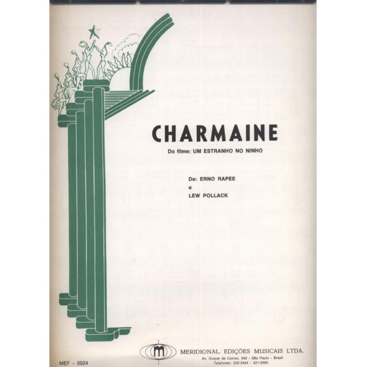 Partitura Charmaine para órgão.- 117 -