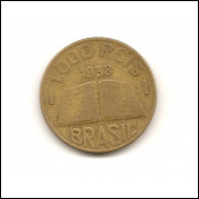Moeda Brasil 1000 réis 1938.- 162 -