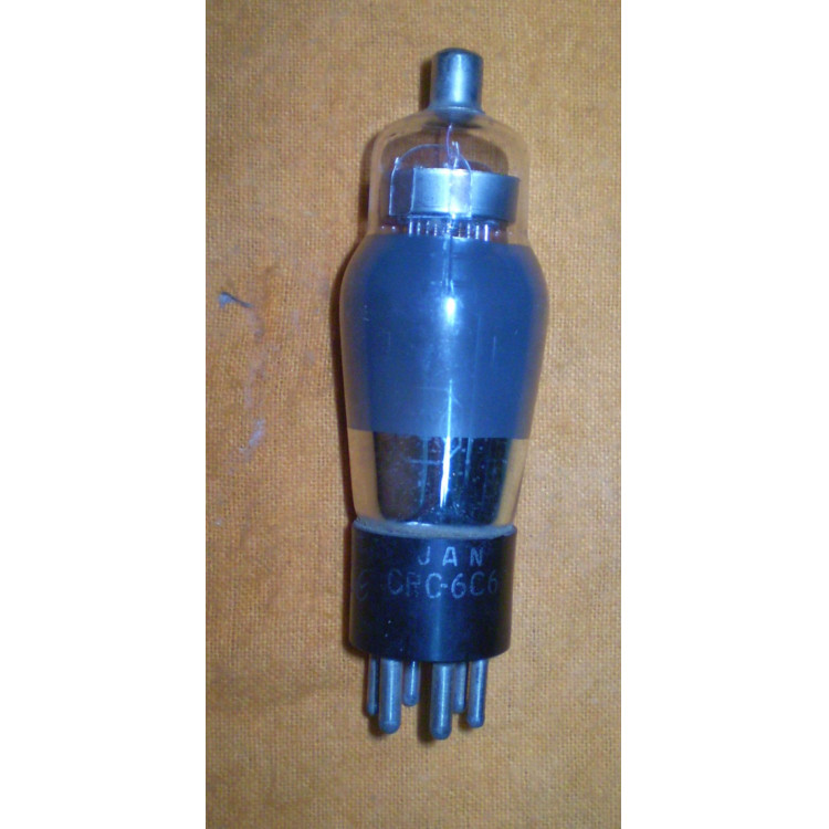 Válvula eletrônica antiga tipo 6C6.- 177 -