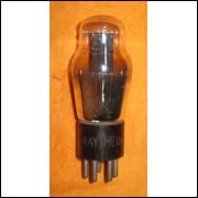 Válvula eletrônica antiga tipo 56.- 179 -