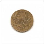 Moeda Brasil 1000 réis 1925.- 208 -