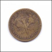 Moeda do Brasil de 500 réis de 1922.- 227 -